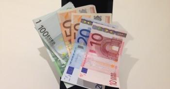 Eurų kupiūros bankai.lt mini