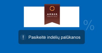 Kredito unija Amber mini