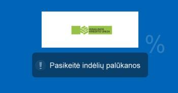 Ignalinos kredito unija indėliai mini