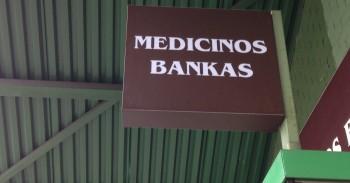 Medicinos banko valiutų keityklos mini