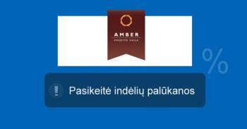 Amber indėliai mini