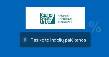 Kauno kredito unija mini
