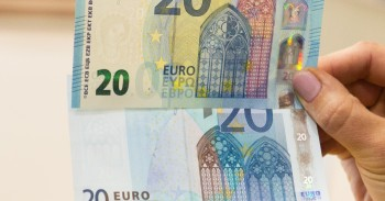 Naujieji 20 EUR banknotai mini