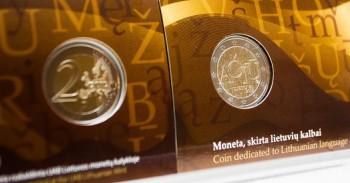 2 EUR naujoji moneta mini