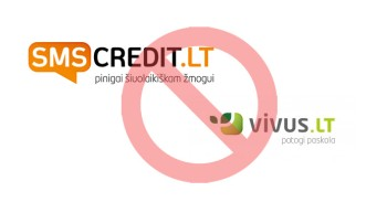 Vivus ir SMS Credit mini
