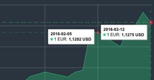EUR/USD kursas vasario 5-12 d. mini