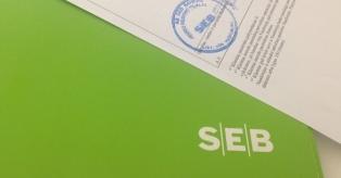 SEB banko sutartys mini