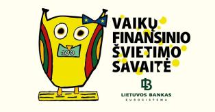 Vaikų finansinio švietimo savaitė mini