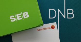 SEB, Swedbank, DNB mini