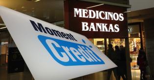 Moment credit ir Medicinos bankas mini