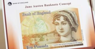 Jane Austen, 10 svarų banknotas mini