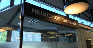 Medicinos banko indėliai mini