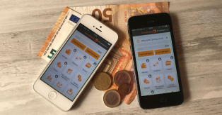 Swedbank mobilioji piniginė mini