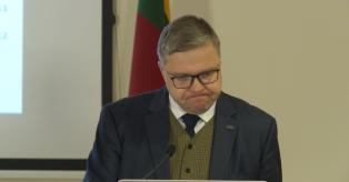 Vitas Vasiliauskas, LB valdybos pirmininkas mini