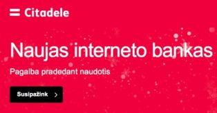 """""""Citadele"""" naujas interneto bankas ir IT klaidos mini"""