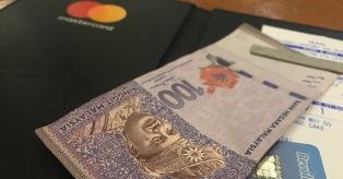 Malaizijos ringitai, mokėjimo kortelė mini