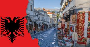Albanija ir valiutos keitimas mini